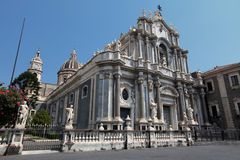 Catania, Italy. Cathedral of Santa Agatha in Catania, Italy Royalty Free Stock Images