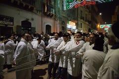 Catania, Italy - February 05, 2016 Saint Agatha of Sicily Royalty Free Stock Photography