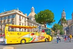 Hop On Hop Off Bus at  piazza del Duomo in Catania