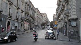 Catania 27 July 17 Sicilia island, Italia stock footage