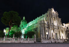 catania katedra Sicily Obrazy Stock