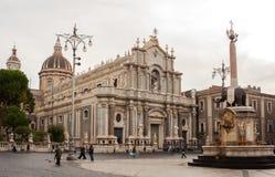 Catania katedralny Santa Agata Fotografia Royalty Free