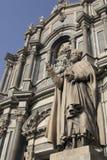 Catania-Kathedrale (Duomo) Stockfotografie