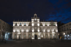 Catania by night Royalty Free Stock Images