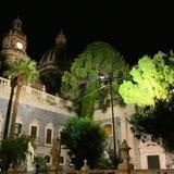 Catania por noche Imagen de archivo