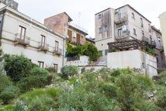 Catania residential block Stock Photo