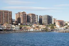 Catania Seafront Royalty Free Stock Photography