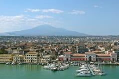Catania Sicilien italy Royaltyfri Bild