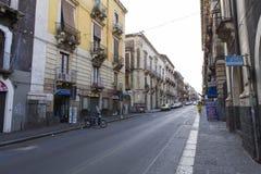 Catania street view Stock Photography