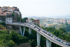 Catanzaro (Italien) Lizenzfreie Stockbilder