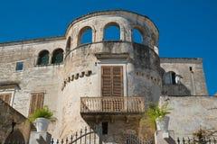 Catapano palace. Rutigliano. Puglia. Italy. Catapano palace of Rutigliano. Puglia. Italy royalty free stock images