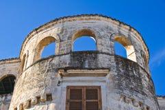 Catapano Palace. Rutigliano. Puglia. Italy. Stock Image