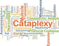 Cataplexy background concept Royalty Free Stock Photography