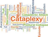 Cataplexy-Hintergrundkonzept Lizenzfreie Stockfotografie
