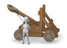 Catapult Stock Photo