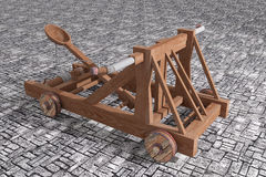 Catapult Stock Image