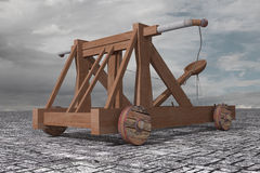 Catapult Royalty Free Stock Photo