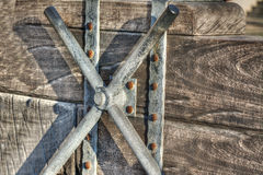 Catapult handle Royalty Free Stock Photography