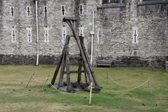 Catapult in London Royalty Free Stock Images