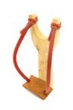 Catapult slingshot isolated on white background Royalty Free Stock Photo