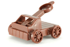 Catapult toy Royalty Free Stock Images