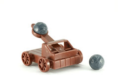 Catapult toy Stock Photography