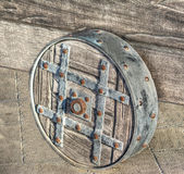 Catapult wheel Royalty Free Stock Photo