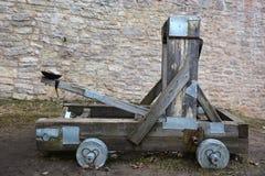 Catapulta di legno Fotografie Stock Libere da Diritti