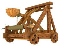 Catapulta (medieval) Foto de Stock Royalty Free