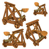 Catapulta (medioevale) Immagine Stock