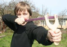 Catapulte photo stock