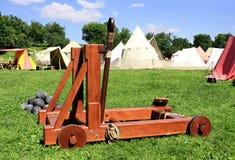 Catapulte photo libre de droits