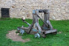 Catapulte antique image stock