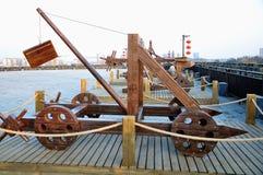 Catapulte antique photos stock