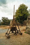 Catapulte médiévale images stock