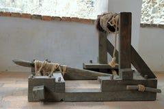 Catapulte modèle image libre de droits