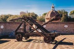 catapulte romaine photo stock