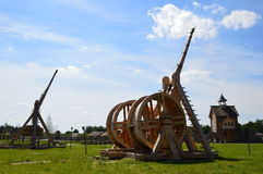 Catapults Royalty Free Stock Photos