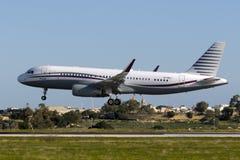 Catar Amiri Airbus A320 Foto de Stock Royalty Free