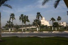 Catar, doha, cidade, moderno, árabe, arquitetura fotos de stock
