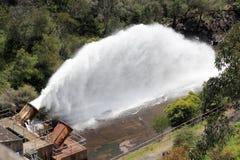 Cataract Dam overflow Royalty Free Stock Photos