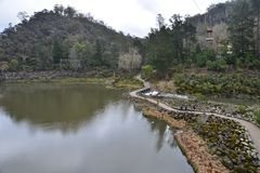 Cataract Gorge reserve Royalty Free Stock Images