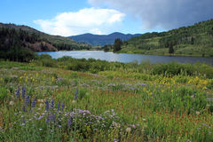 Cataract Lake, Colorado Royalty Free Stock Image