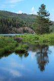 Cataract Lake, Colorado Stock Images