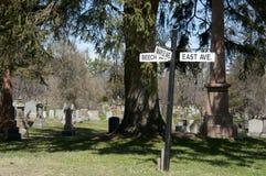 Cataraqui kyrkogård - Kingston - Kanada Arkivfoton