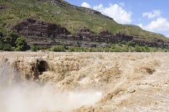 Catarata de Hukou Foto de Stock Royalty Free
