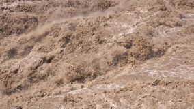 Catarata de Hukou video estoque