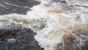 Catarata del agua metrajes