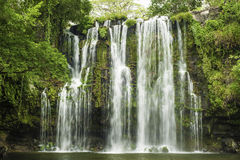 Catarata Llanos de Cortez Waterfall royalty free stock images