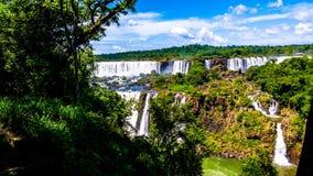 Cataratas de伊瓜苏,密西昂奈斯,阿根廷 免版税库存照片